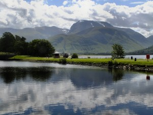 Ben Nevis looking so tranquil not knowing what was about to hit it!