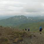 Final descent off Beinn Ghlas